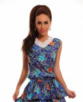 Haine. Rochie Country Delight Blue