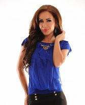 Smart Selection DarkBlue Blouse