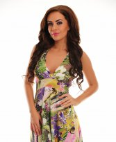 Haine. Rochie Exotic Meeting Green