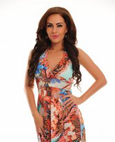 Haine. Rochie Exotic Meeting Orange