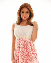 Haine. Rochie Young Girl Red