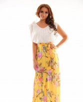 Haine. Rochie LaDonna Summer Example Yellow