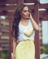 LaDonna Rattling Heart Yellow Dress