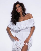 Mexton Finest Couture White Dress