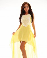 Haine. Rochie Luxuriant World Yellow