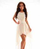 Haine. Rochie Luxuriant World Cream
