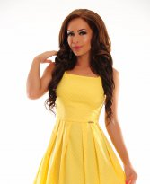 PrettyGirl Suddenly Yellow Dress