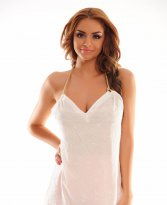 PrettyGirl Hurried White Top Shirt