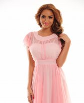 Haine. Rochie Galactic Delight Pink