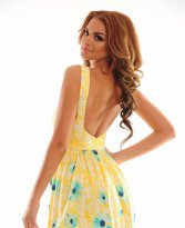 Original Sunrise Yellow Dress