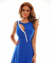 Haine. Rochie Remarkable Match Blue