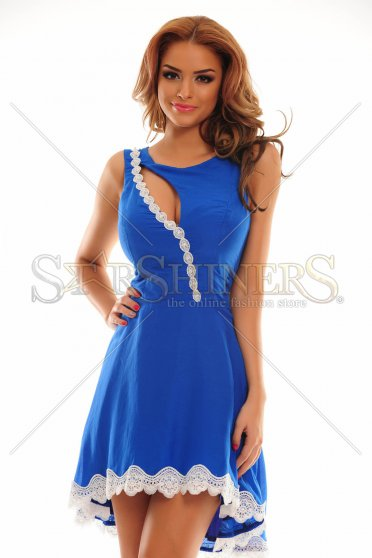 Rochie Remarkable Match Blue