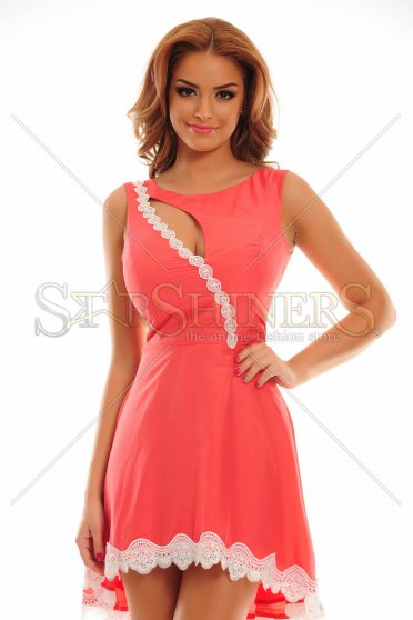 Rochie Remarkable Match Coral