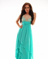 Haine. Rochie Royal Crossing Mint