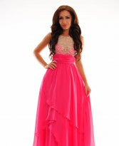 Haine. Rochie Royal Crossing Pink