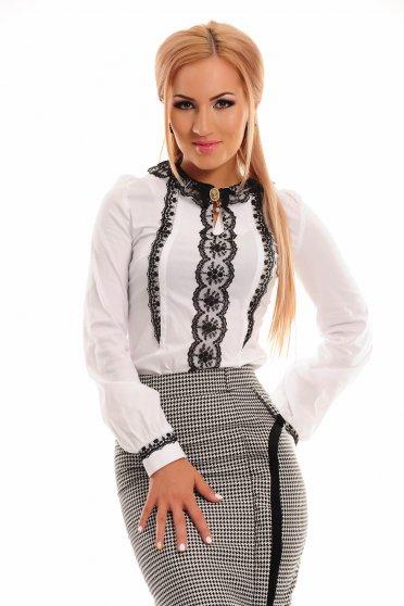 Camasa LaDonna Discreet Charm White