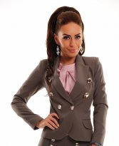 LaDonna Intense Effect Grey Jacket