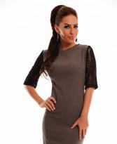 Haine. Rochie LaDonna Adorable Essence Grey