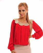 Haine. Bluza LaDonna Golden Wave Red