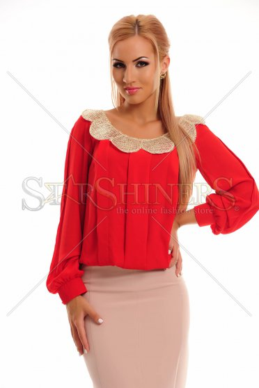 Bluza LaDonna Golden Wave Red