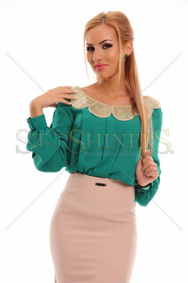 Bluza LaDonna Golden Wave Green