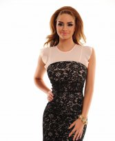 Sugar Lace Black Dress
