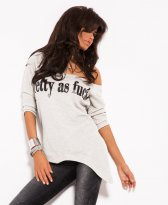 Haine. Bluza Mexton Unlimited Beauty Grey