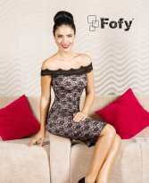 Haine. Rochie Fofy Radiant Look Black