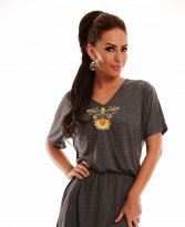 StarShinerS Mandala Grey Dress