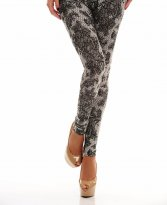 Fofy Trendy Attitude Black Tights