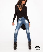 Haine. Jeans Mexton Electric Move Blue