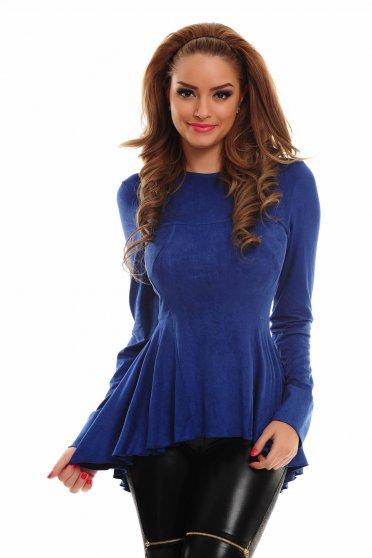 Bluza MissQ Fluffy Graze Blue