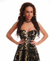 Mexton Autumn Affair Black Dress