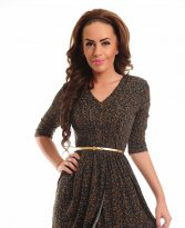 Artista Natural Attraction Brown Dress