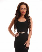 Haine. Rochie Always Charming Black