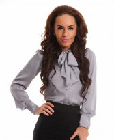 LaDonna Intense Rhythm Grey Shirt