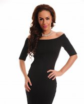 Haine. Rochie Fofy Brilliant Wish Black