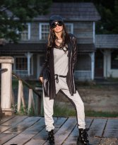 Mexton Stay Light Grey Jumpsuit