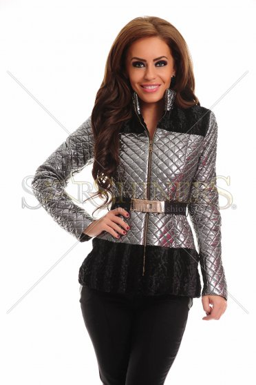 Geaca LaDonna Fancy Gleam Silver