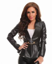 LaDonna Bland Coverall Black Jacket