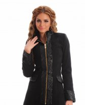 Haine. Palton LaDonna Electric Fashion Black