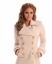 LaDonna Natural Concept Cream Coat