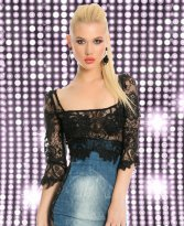 Haine. Rochie Ocassion First Image Blue