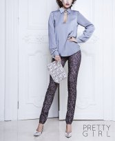 PrettyGirl Graceful DarkGrey Tights