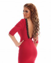 Haine. Rochie High Perfection Red