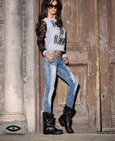 Haine. Jeans Mexton Hot Aims Blue