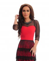 LaDonna Modern Spirit Red Dress