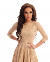Artista Kindled Flavour Cream Dress