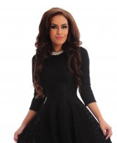 Haine. Rochie Kindled Flavour Black
