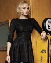 Artista Kindled Flavour Black Dress